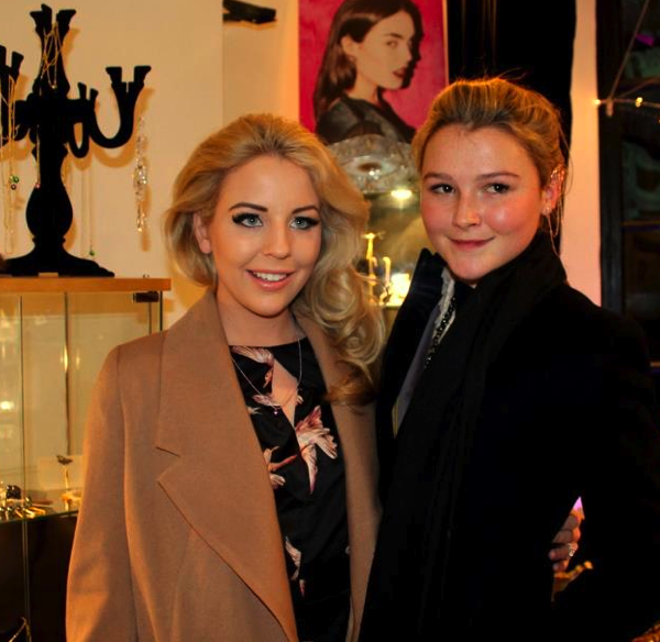Amber Atherton  - Made in Chelsea and Lydia Bright - The Only way is Essex
