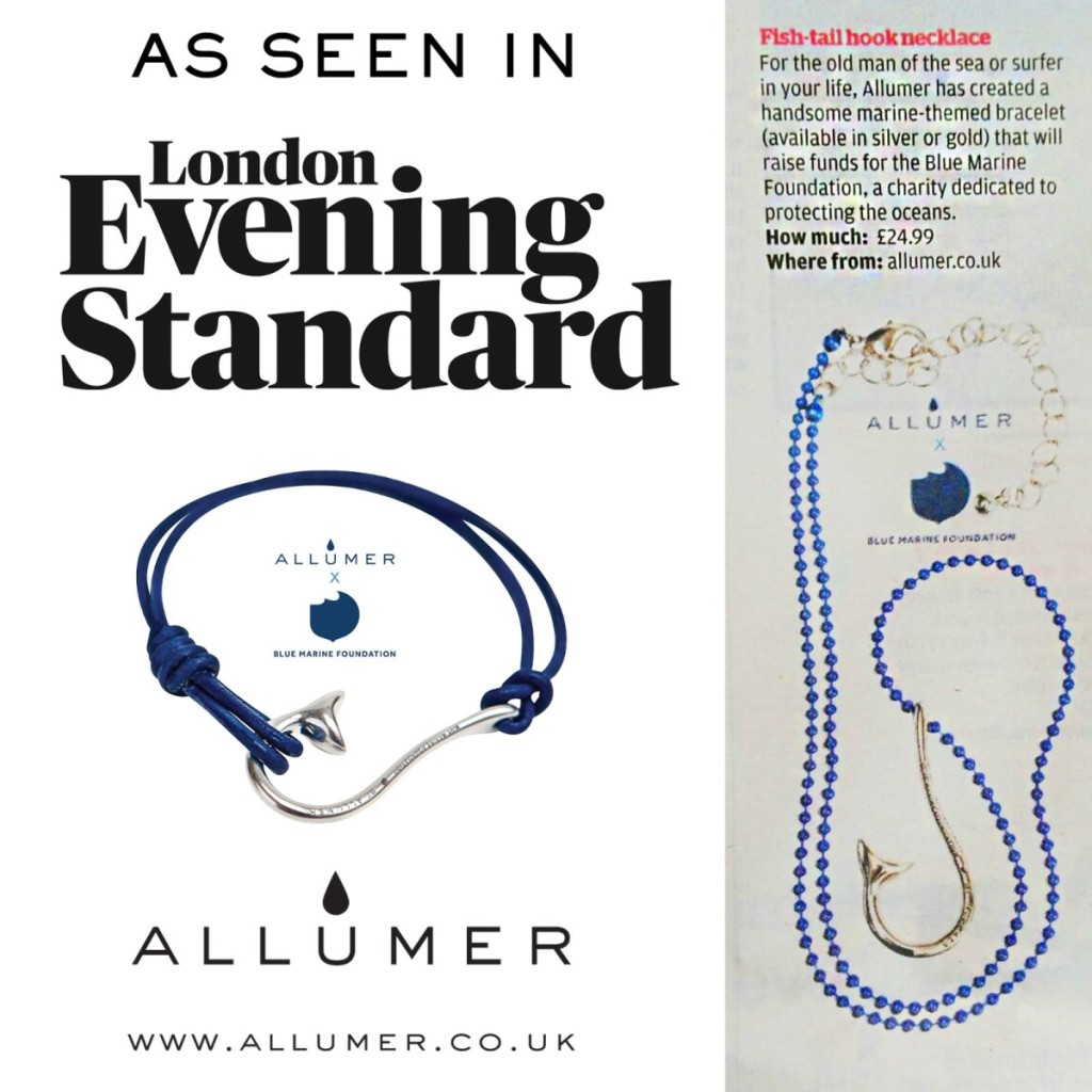 The Evening Standard - Allumer X Blue Marine Foundation